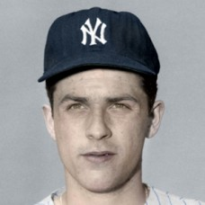 "Vincent Pignatello - 1958 New York Yankees - 4""x6"" colorized print"
