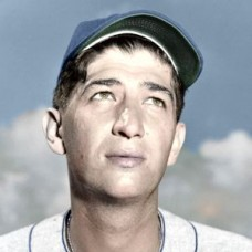"Jim Romano - 1951 Brooklyn Dodgers 4""x6"" colorized print"