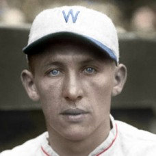 "Jimmy Uchrinscko - 1926 Washington Senators - 4""x6"" colorized print"