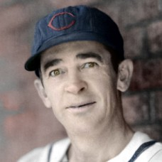 "Joe Berry - 1942 Chicago Cubs - 4""x6"" colorized print"
