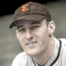 "Joe Grace - 1938 St. Louis Browns - 4""x6"" colorized print"