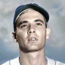 "Joe Landrum - 1951 Brooklyn Dodgers 4""x6"" colorized print"