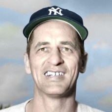 "Joe Ostrowski - 1952 New York Yankees 4""x6"" colorized print"