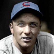 "John Bottarini - 1937 Chicago Cubs - 4""x6"" colorized print"