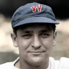 "John Mihalic - 1937 Washington Senators - 4""x6"" colorized print"