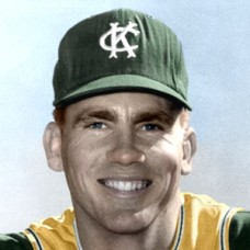 "John O'Donoghue - c. 1964-65 Kansas City Athletics - 4""x6"" colorized print"