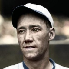 "Karl Swanson - 1928 Chicago White Sox 4""x6"" colorized print"