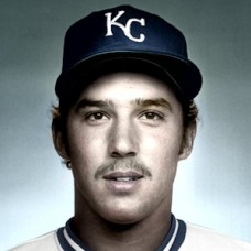"Kelly Heath - 1982 Kansas City Royals - 4""x6"" colorized print"