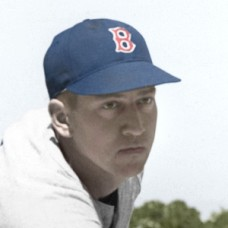 "Mel Deutsch - 1946 Boston Red Sox - 4""x6"" colorized print"
