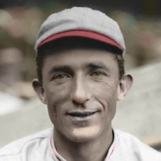 "Mike Mitchell - 1912 Cincinnati Reds - 4""x6"" colorized print"