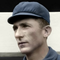"Mike Mitchell - 1913 Chicago Cubs - 4""x6"" colorized print"