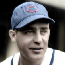 "Rabbit Warstler - 1940 Chicago Cubs - 4""x6"" colorized print"