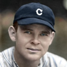 "Ralph Winegarner - c. 1932-36 Cleveland Indians - 4""x6"" colorized print"