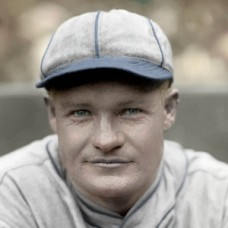 "Red Holt - 1925 Philadelphia Athletics - 4""x6"" colorized print"
