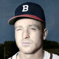"Roy Hartsfield - 1951 Boston Braves - 4""x6"" colorized print"