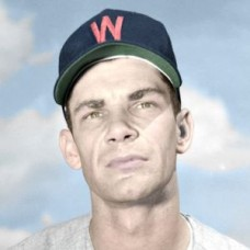 "Roy Hawes - 1951 Washington Senators 4""x6"" colorized print"