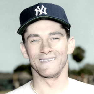 "Steve Kraly - 1953 New York Yankees - 4""x6"" colorized print"