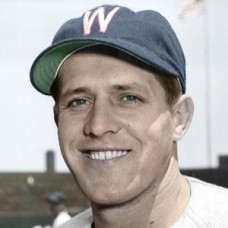 "Steve Nagy - 1950 Washington Senators - 4""x6"" colorized print"