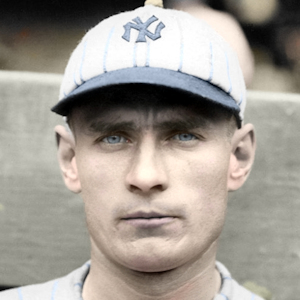 "Wally Pipp - 1921 New York Yankees - 4""x6"" colorized print"