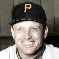 "Bill Howerton - 1952 Pittsburgh Pirates - 4""x6"" colorized print"
