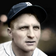 "Billy Rogell - c. 1934-38 Detroit Tigers - 4""x6"" colorized print"