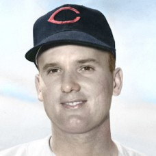 "Bob Chakales - 1953 Cleveland Indians - 4""x6"" colorized print"