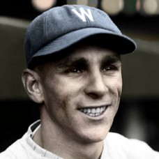 "Bobby Reeves - 1928 Washington Senators - 4""x6"" colorized print"