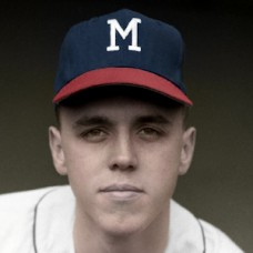 "Dan Schneider - 1963 Milwaukee Braves - 4""x6"" colorized print"