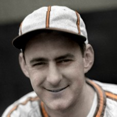 "Frankie Hayes - 1942 St. Louis Browns - 4""x6"" colorized print"