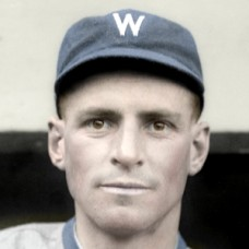 "Henri Rondeau - 1916 Washington Senators - 4""x6"" colorized print"