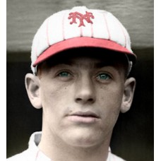 "Jigger Statz - c. 1919-20 New York Giants - 4""x6"" colorized print"