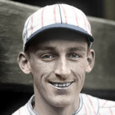 "Jimmy Welsh - 1926 Boston Braves - 4""x6"" colorized print"