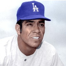 "Jose Pena - 1970 Los Angeles Dodgers - 4""x6"" colorized print"