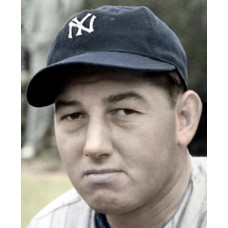 "Ken Sears - 1943 New York Yankees - 4""x6"" colorized print"