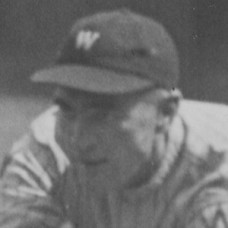 "Elmer Bowman - 1920 Washington Senators - 6.5""x10"" wirephoto"