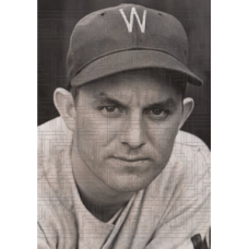"Joe Kohlman - 1938 Washington Senators - 5""x7"" wirephoto"