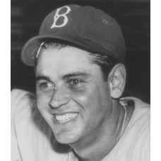 "Joe Orengo - 1943 Brooklyn Dodgers - 6""x8"" wirephoto"