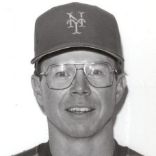 "Mike Cubbage - 1981 New York Mets 8""x10"" wirephoto"