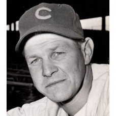 "Paul Erickson - 1945 Chicago Cubs 5""x 7"" wirephoto"