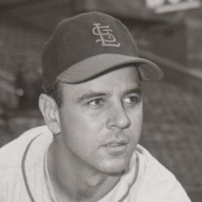 "Paul LaPalme - 1955 St. Louis Cardinals baseball - 4""x5"" contact print"