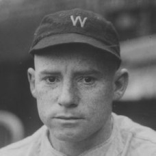 "Pinky Hargrave - 1924 Washington Senators 5""x 7"" wirephoto"